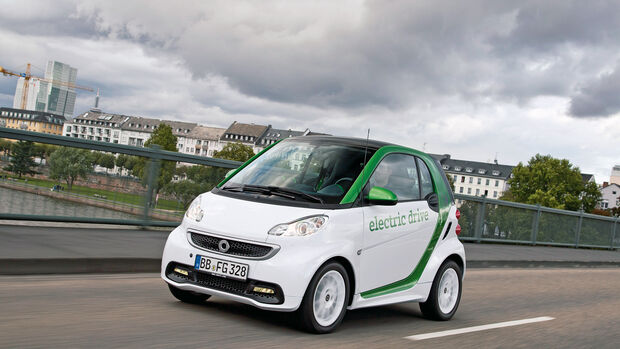 Smart Fortwo ED, Frontansicht