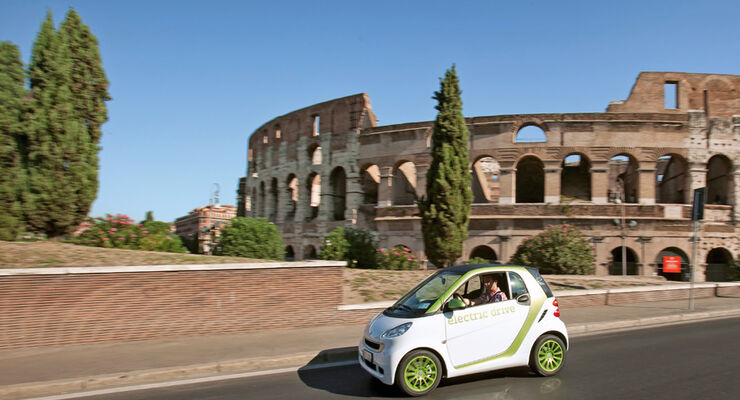 Smart Fortwo ED, Rom, Kolosseum