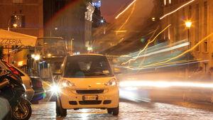 Smart Fortwo ED, Rom, Nachtverkehr