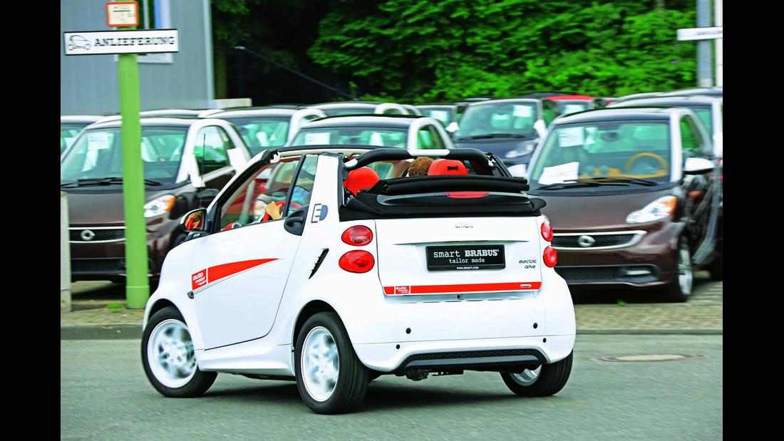 Smart Fortwo Electric Drive Cabrio
