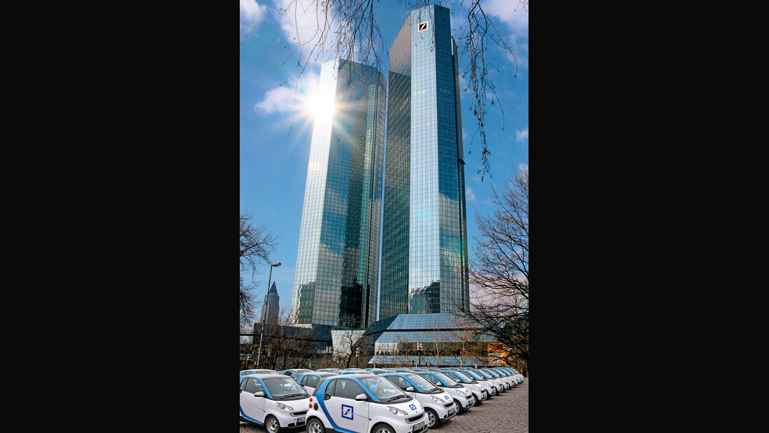 Smart Fortwo Electric Drive, Deutsche Bank