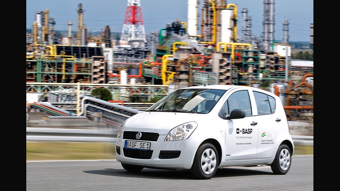 Smart Fortwo Electric Drive, Seitenansicht