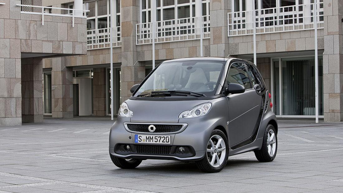 Smart Fortwo Facelift 2012 Front