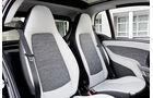 Smart Fortwo Facelift 2012 Innenraum, Sitze
