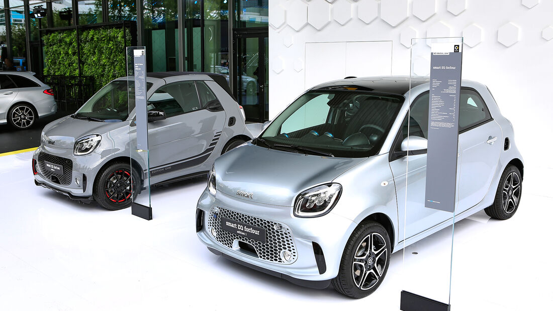 Smart Fortwo, Forfour, IAA 2019