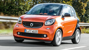 Smart Fortwo, Frontansicht