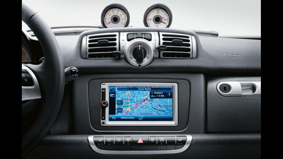 Smart Fortwo, Navigationssystem