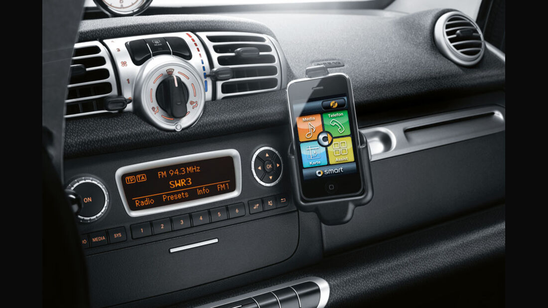 Smart Fortwo, iPhone-Integration