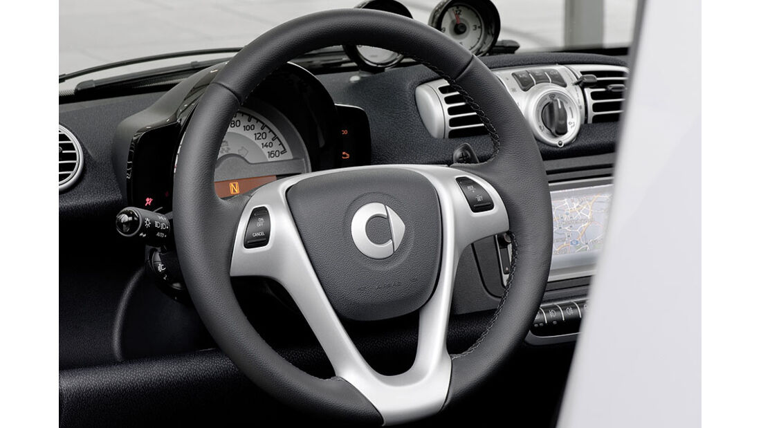 Smart Fortwo mhd,Cockpit