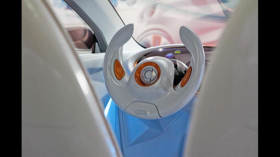 Smart Forvision, Innenraum, Lenkrad