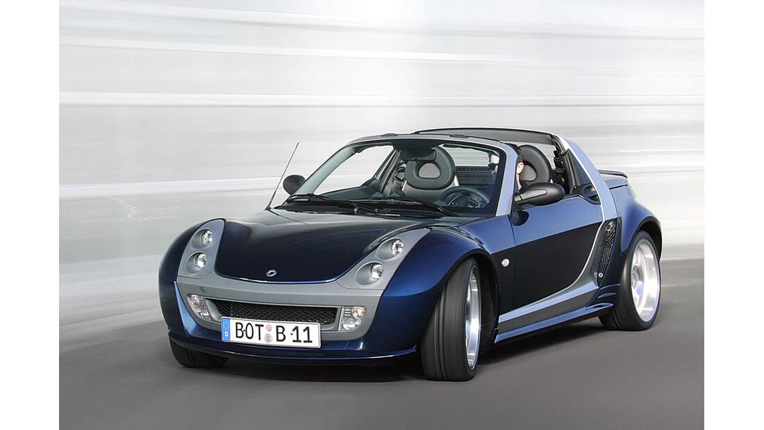 Smart Roadster Brabus Bluewave