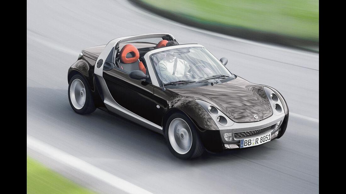 Smart Roadster, Seitenansicht