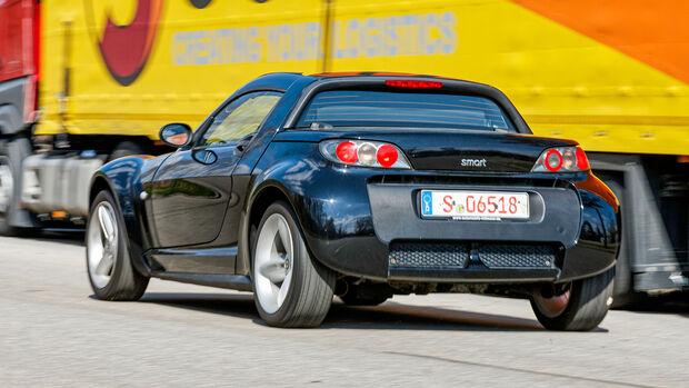 Smart Roadster Softtouch, Cabrios vom Kiesplatz