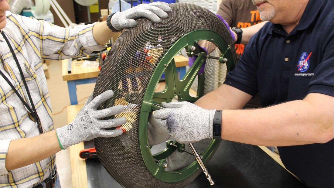 Smart Tire Mars Rover Tire