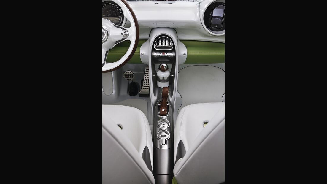 Smart forspeed, Mittelkonsole, Innenraum, Cockpit
