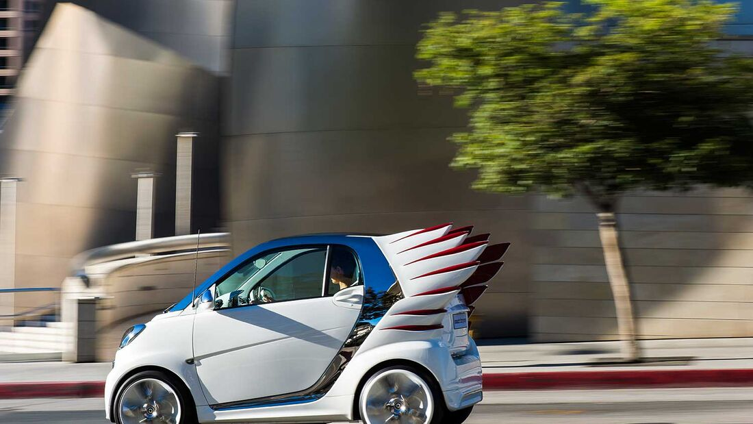 Smart fortwo Edition by Jeremy Scott