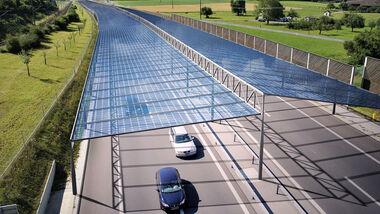 Solarautobahn Solardach