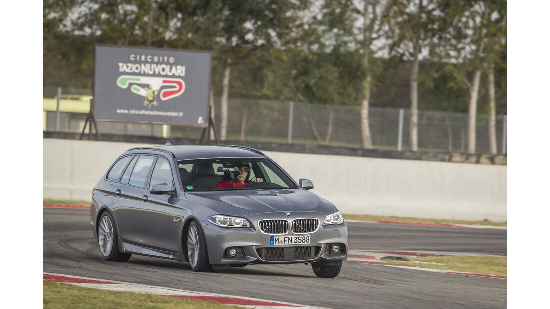 Sommerreifen-Test 2017, Trocken Fahrversuch, BMW 5er Touring