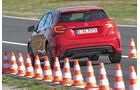 Sommerreifen-Test, Mercedes A 250, Bremstest