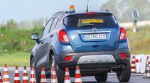 Sommerreifentest 2016 von auto motor und sport, Bremstest
