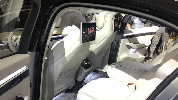 Sony Vision-S, Interieur