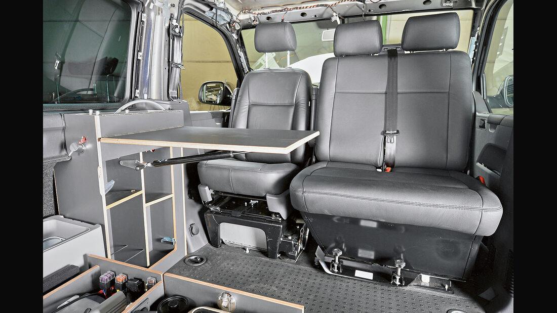 Spacecamper T5, Caravan Salon 2014