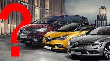 Sparpläne Renault Espace Scenic Talisman