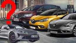 Sparpläne Renault Espace Scenic Talisman Alpine