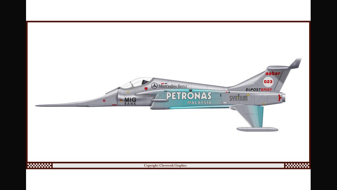Spectrum Angel Interceptor - Mercedes - Racing-Planes - 2015