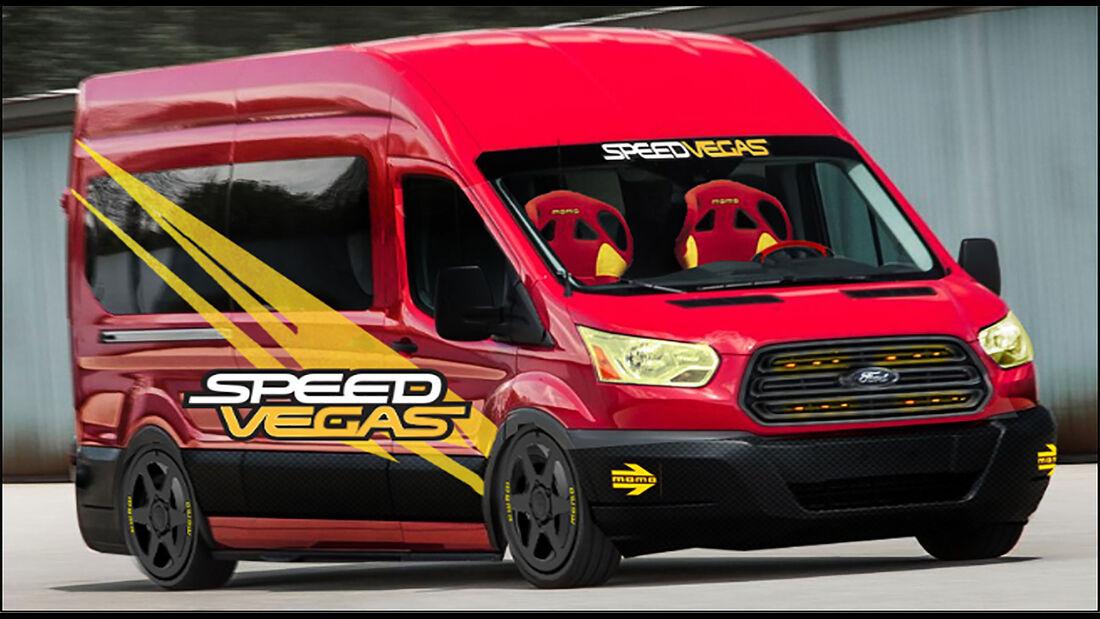 SpeedVegas Ford Transit
