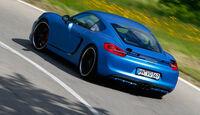 Speedart-Cayman SP81-CR, Heckansicht