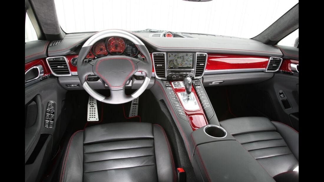 Speedart PS9-560, Cockpit