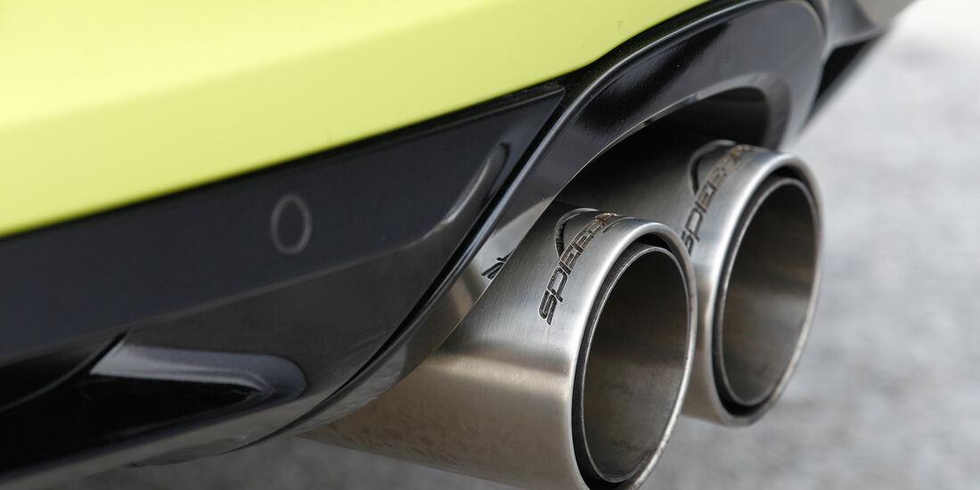 Speedart SP81-R, Auspuff, Endrohr