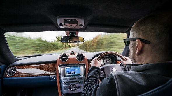 Speedback GT, Cockpit, Fahrersicht
