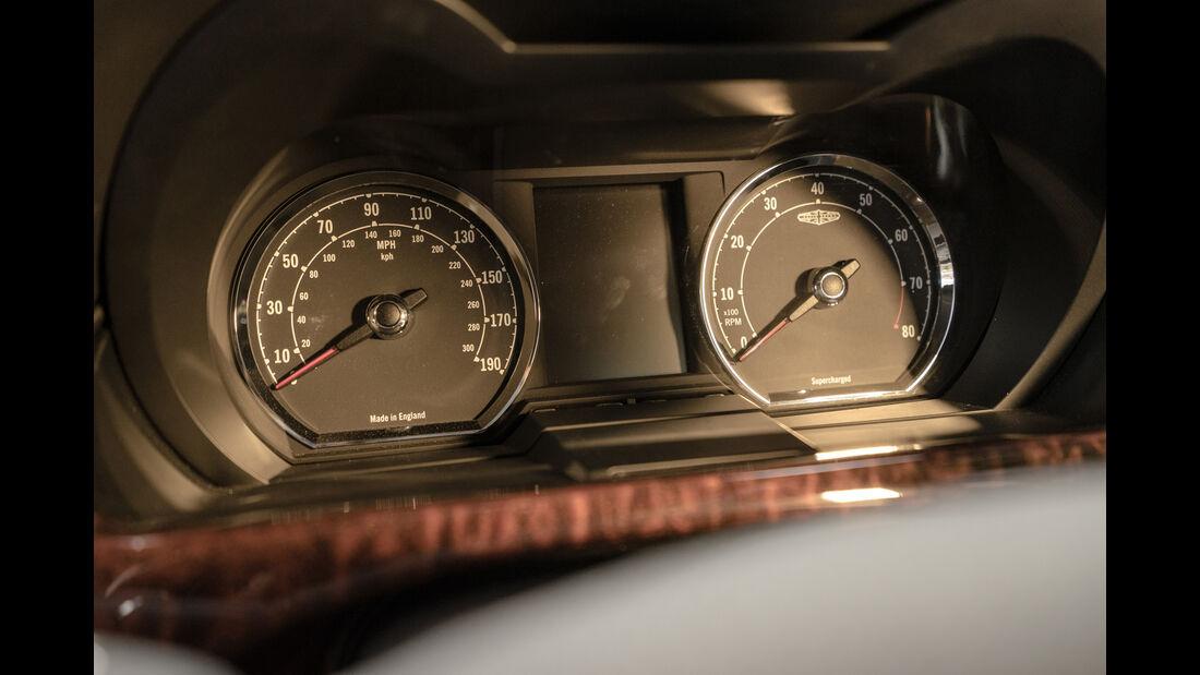 Speedback GT, Rundinstrumente