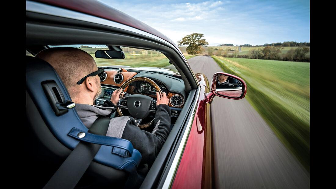Speedback GT, Seitenführung