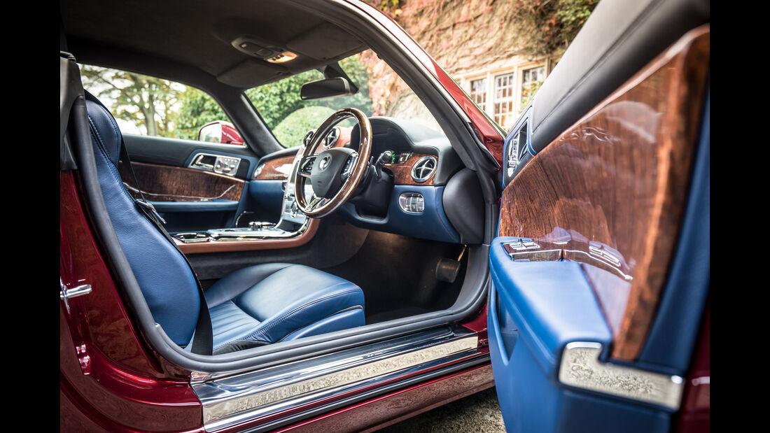 Speedback GT, Sitz