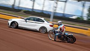 Speedwaybahn, BMW M235i, Impression