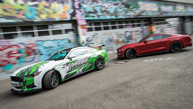 Spezial Sportscars & Tuning 2017 Ford Mustang Geiger Kompressor Schropp SF 600R Vergleich