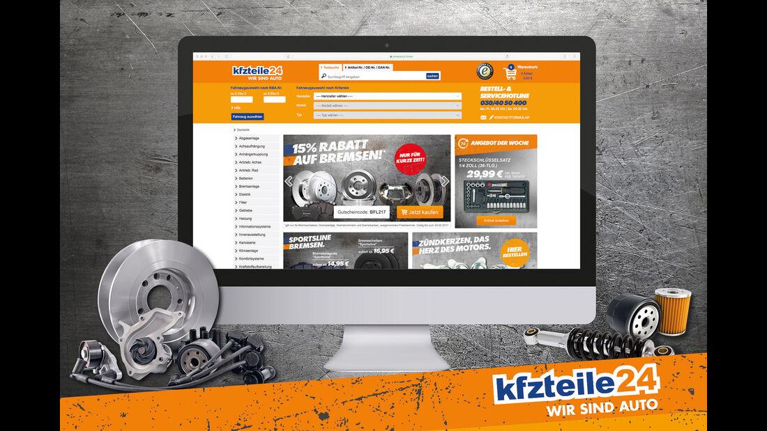 Spezialisierter Online-Versandhandel Autoteile
