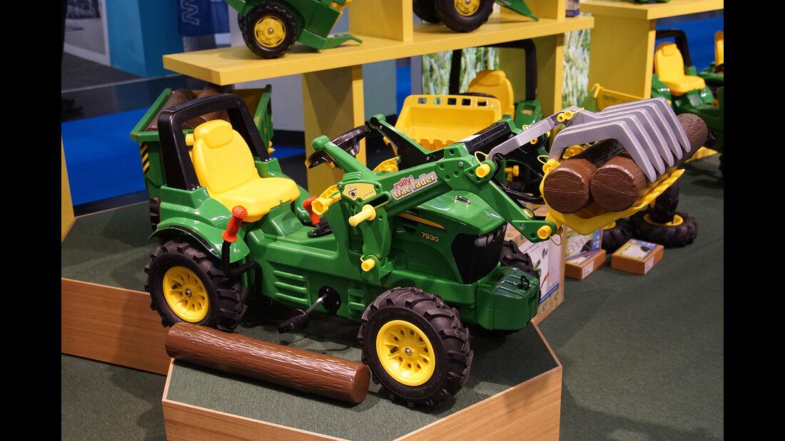 Spielwarenmesse 2017, Baumaschinen