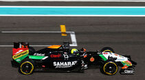Spike Goddard - Force India - Formel 1 - Test - Abu Dhabi - 26. November 2014