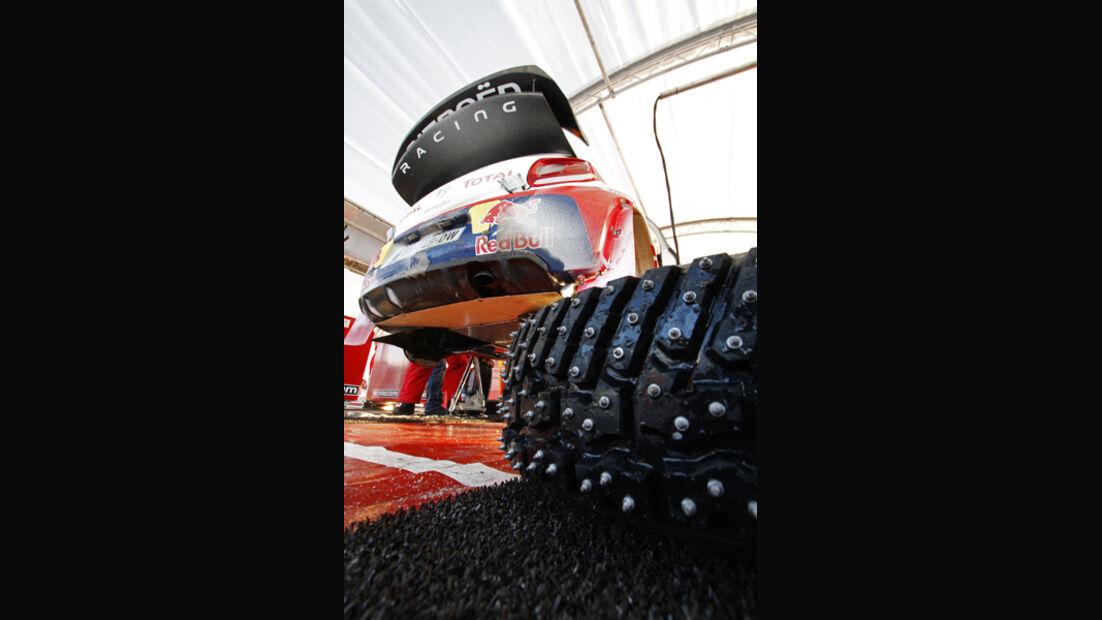 Spikes Rallye Schweden 2012 WRC