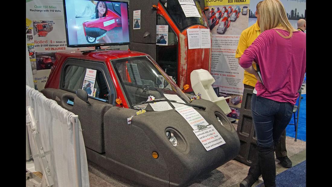 Spira Foam Car CES 2017