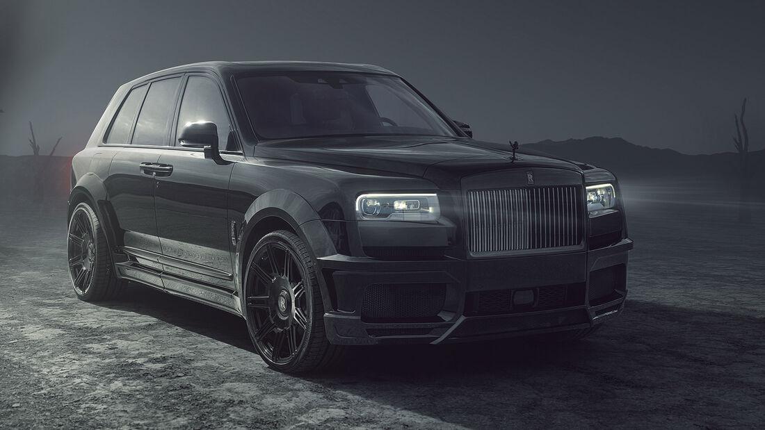 Spofec Rolls-Royce Cullinan Overdose Black Badge