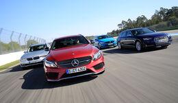 Sportkombis von Audi, BMW, Mercedes und Volvo