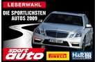 Sportlichste Autos 2009