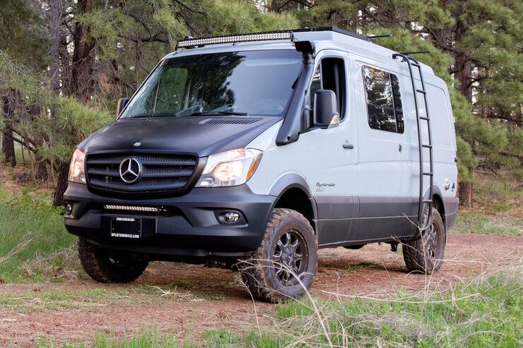 Sportsmobile Mercedes Sprinter 4x4 Wohnmobil