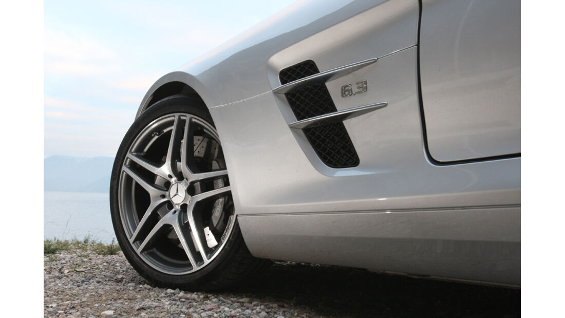 Sportwagen, Mercedes SLS AMG, Felgen