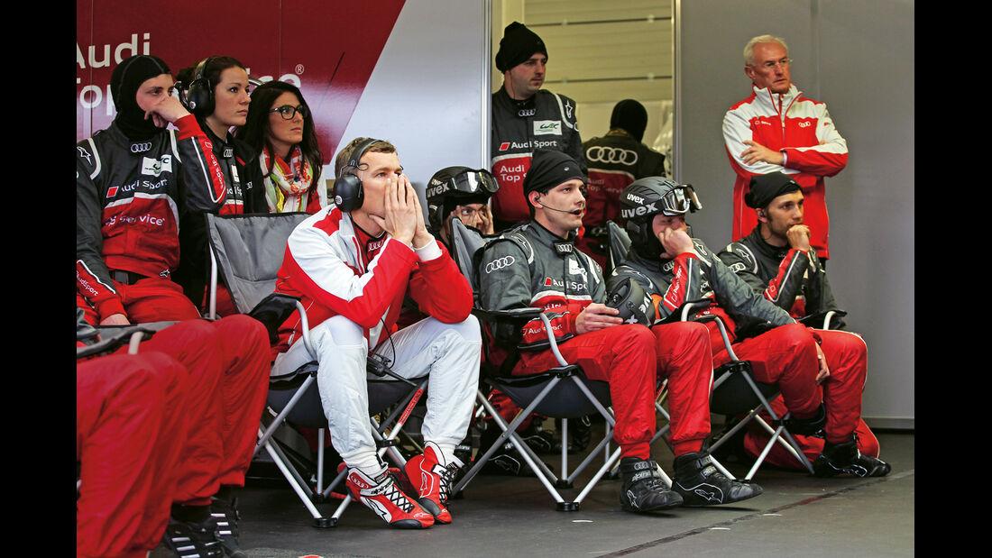 Sportwagen-WM, Audi, Crew
